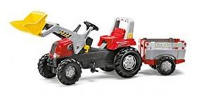 Tractor rolly junior rt con remolque y pala