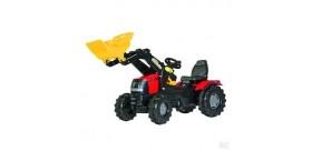 Tractor de juguete rolly case puma 225 con pala