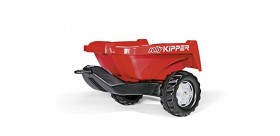 ROLLY TOYS Remolque ROLLY Kipper II rojo