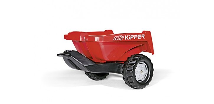ROLLY TOYS Remolque ROLLY Kipper II rojo
